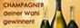 Champagner Gewinnspiel